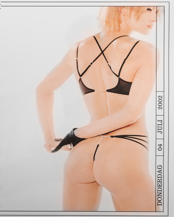 Picture from Marlies Dekkers in July 2002.